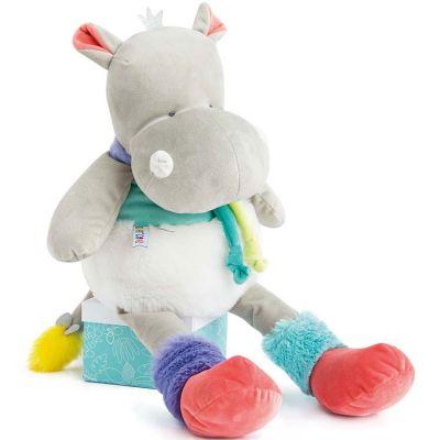 Peluche hippopotame Tropi'cool (80 cm) Doudou et Compagnie