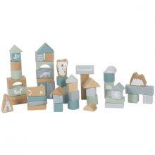 Blocs de construction Adventure blue (50 pièces)  par Little Dutch