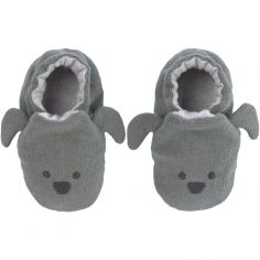 Chaussons Little Chums chien (0-6 mois)