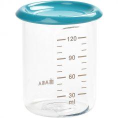 Pot de conservation Baby portion bleu (120 ml)