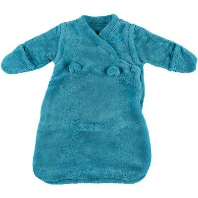 Gigoteuse 4 saisons Mix & match turquoise TOG 1,7 (50 cm)  par Noukie's