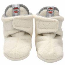Chaussons bébé Slipper Scandinavian Off White (12-18 mois)  par Lodger