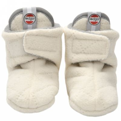Chaussons bébé Slipper Scandinavian Off White (12-18 mois)  par Lodger