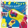 Pistolets à cotillons Comics boom (8 pièces)  par Djeco
