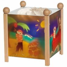 Lanterne magique Pirate naturel  par Trousselier