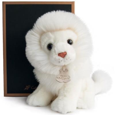 Peluche lion blanc Les authentiques (20 cm) Histoire d'Ours