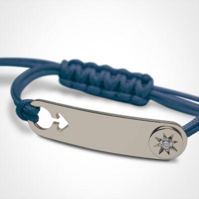 Bracelet I am a Star Garçon (or blanc 750°)  par Mikado