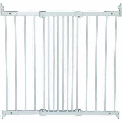 Barrière de sécurité métal Flexi Fit blanche  par BabyDan