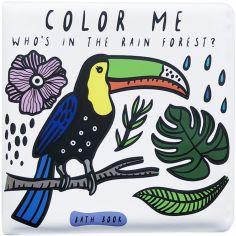 Livre de bain Qui est dans la forêt tropicale ?