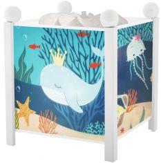 Lanterne magique Océan blanche