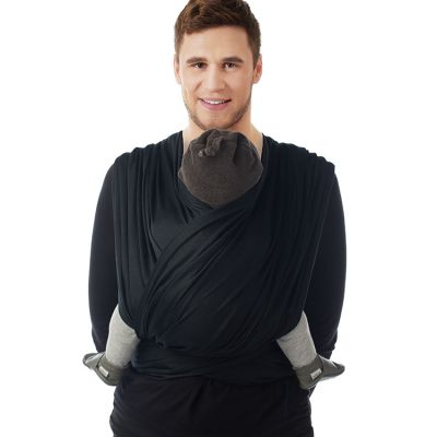 Echarpe de portage BB-Slen Trend noire (4,2 mètres)  par Babylonia carriers