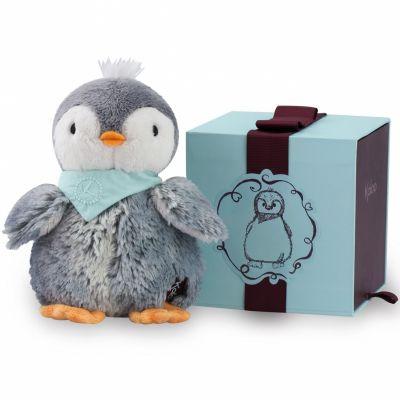 Coffret peluche Pépit' le pingouin (19 cm) Kaloo