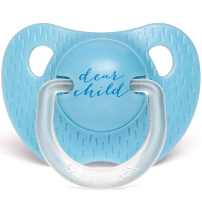 Sucette physiologique Child bleu (18 mois et +)  par Suavinex