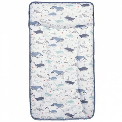 Matelas à langer Essentials Baleine bleu  par Mamas and Papas