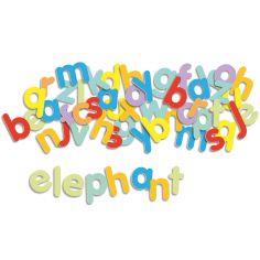 Lettres minuscules magnétiques (83 pièces)