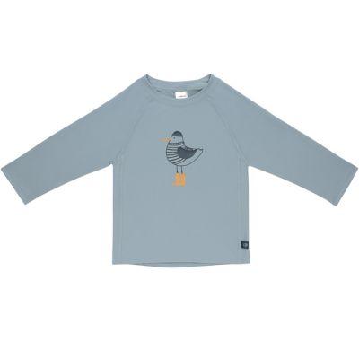 Tee-shirt anti-UV manches longues M. Mouette bleu (2 ans)