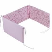 Tour de lit Pink Blossom (pour lits 60 x 120 et 70 x 140 cm) - Little Dutch