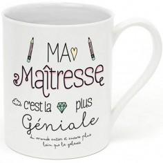 Mug Ma maîtresse c'est la plus géniale