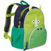 Mini sac à dos Update rhinocéros  Wildlife vert - Lässig