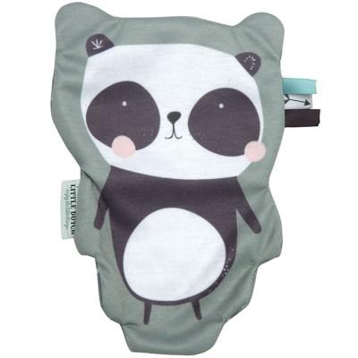Panda câlin papier froissé Adventure mint  par Little Dutch