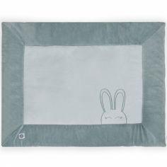 Tapis de parc Sweet bunny vert (80 x 100 cm)