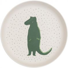 Assiette plate Mr. Crocodile