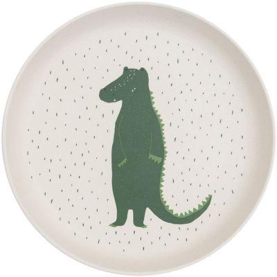 Assiette plate Mr. Crocodile  par Trixie