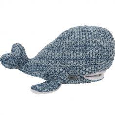 Peluche baleine bleue (30 cm)