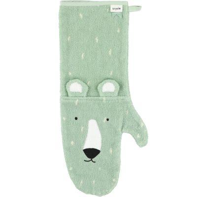 Gant de douche bébé ours Mr. Polar Bear  par Trixie