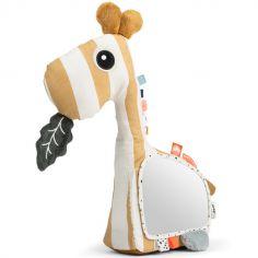Peluche d'activités avec miroir girafe Raffi