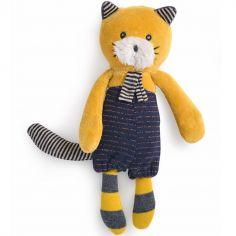 Peluche chat Lulu Les Moustaches (18 cm)