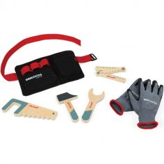 Ceinture à outils et gants Brico'Kids