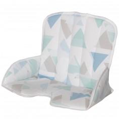 Coussin de chaise haute tissu Tamino prisme