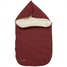 Nid d'ange passe sangle Pure indian red (95 x 108 cm)