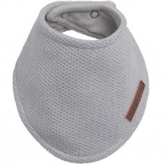 Bavoir bandana gris Classic