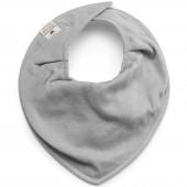 Bavoir bandana gris Bamboo - Elodie Details