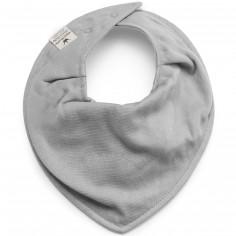 Bavoir bandana gris Bamboo