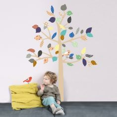 Sticker mural géant Big Tree arbre à motifs