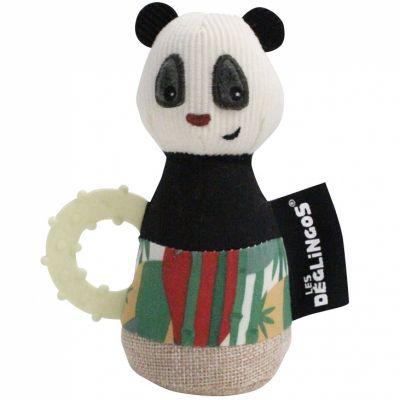 Jouet de dentition maracas Rototos le panda  par Les Déglingos