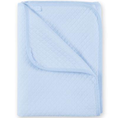 Couverture en coton Kilty bleu clair (75 x 100 cm)  par Bemini