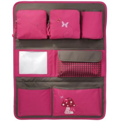 Vide-poche de voiture Champignon rose  par Lässig