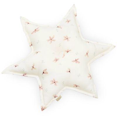 Coussin étoile Windflower Creme (48 cm)  par Cam Cam Copenhagen