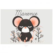 Carte A5 Les Animignons la souris (personnalisable)  par Kanzilue