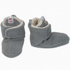 Chaussons gris Botanimal (0-3 mois)