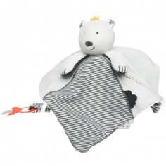 Doudou attache sucette Tidou Sam Timeless