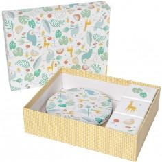 Coffret souvenirs et empreintes My Baby Gift Box