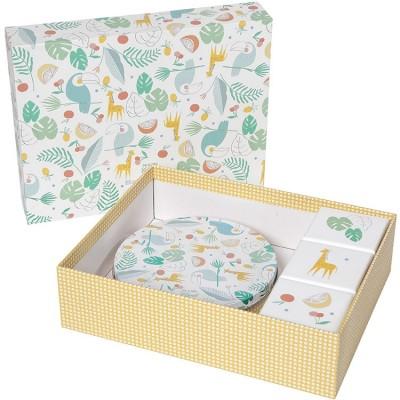 Coffret souvenirs et empreintes My Baby Gift Box  par Baby Art