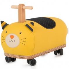 Porteur chat jaune Les Moustaches