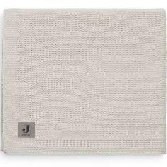 Couverture bébé en coton Bliss knit nougat (75 x 100 cm)