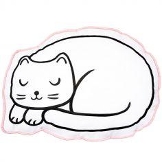 Coussin chat Cutie Cat (42 x 30 cm)